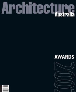 Architecture Australia, November 2002