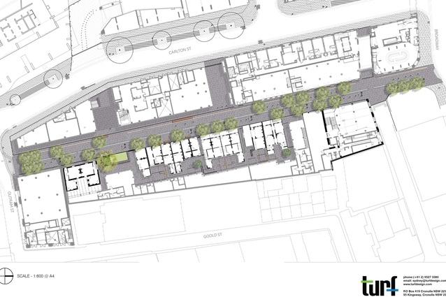 Kensington Street plan.