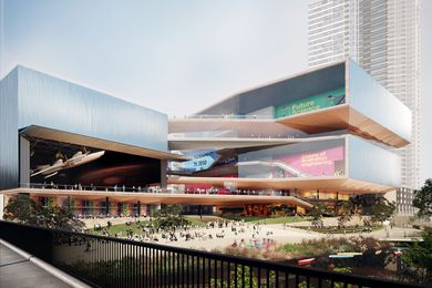 Powerhouse Parramatta proposal by AL_A (UK) and Architectus (Australia).