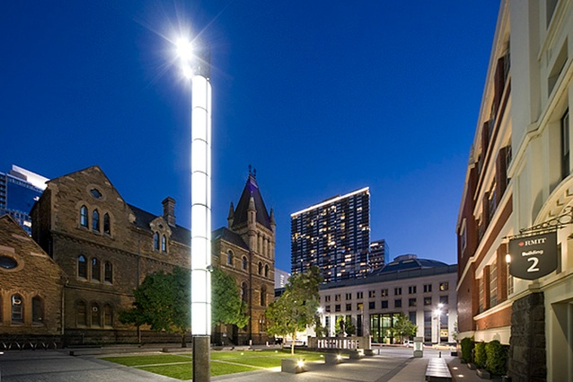 RMIT University Ellis Court by Peter Elliott Architecture and Urban Design.