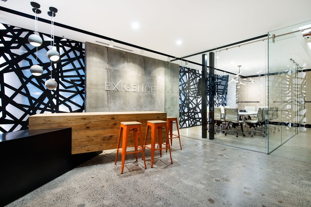 Exigence office fit out by Patrick Cristian Gheorghiu Design