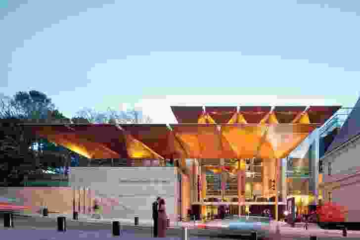 The award-winning Auckland Art Gallery Toi O Tamaki.