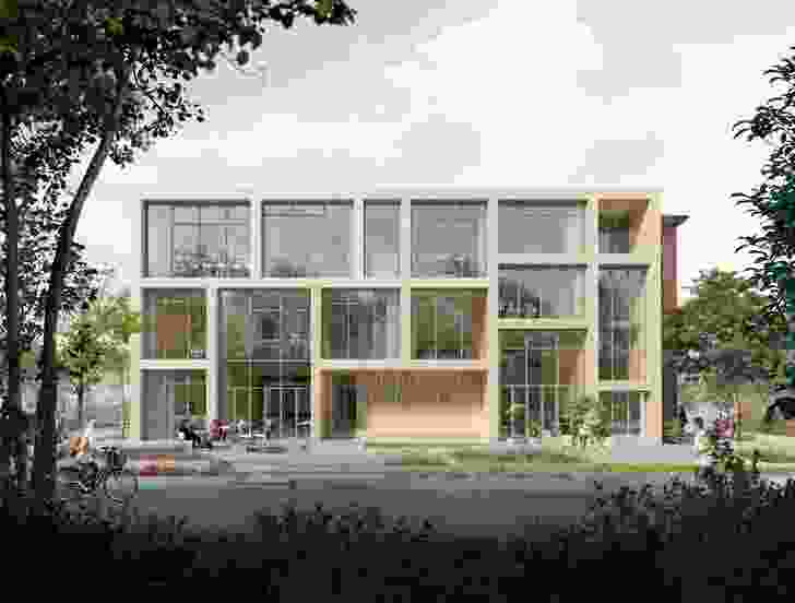 Kildevæld School and Culture Center by Kant Architects and EFFEKT architects.