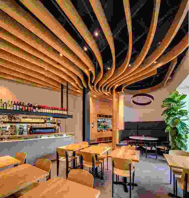 Lilly's Espresso e Cucina by Zanazan Architecture Studio.
