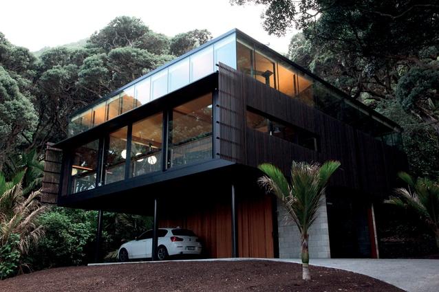 Winner: Sir Ian Athfield Award and Housing category – Kawakawa House by Herbst Architects.