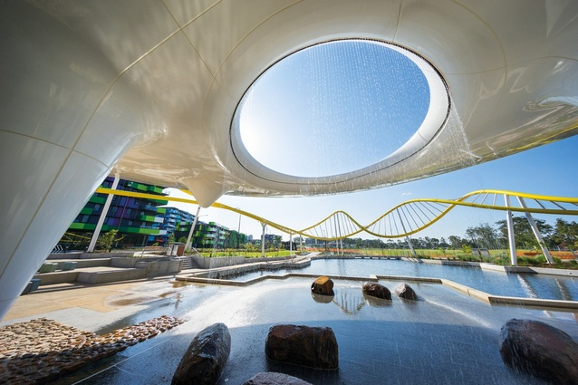 Parklands by AAA (Arkhefield, ARM and Archipelago Architects) with Lat27 and Grocon.