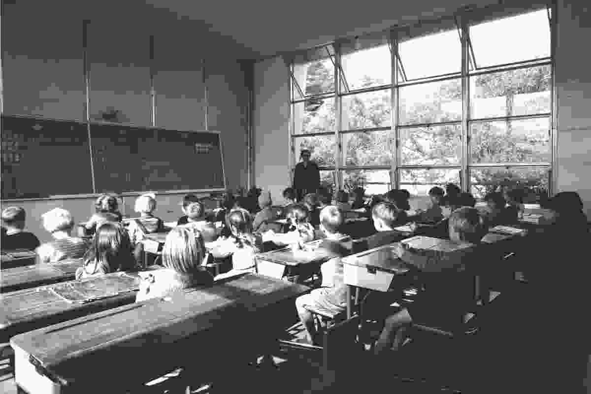 Bristol Prefabricated Aluminium Classroom, c. 1951.