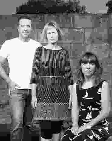 Sam Crawford, Wendy James & Claire Mccaughan of Sam Crawford Architects.