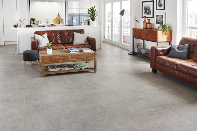 New stone designs for Karndean's Da Vinci collection of luxury vinyl flooring.