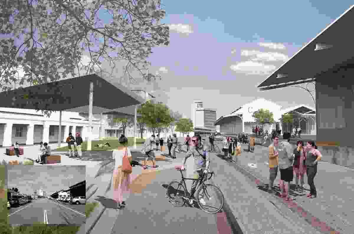 Victoria Quay Enabling Precinct Plans by CODA, Fremantle Ports, Allerding and Associates and Creating Communities.