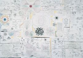 Process sketches for the Meditation Chapel competition (Japan) and A Place of Contemplationexhibition, 1987.