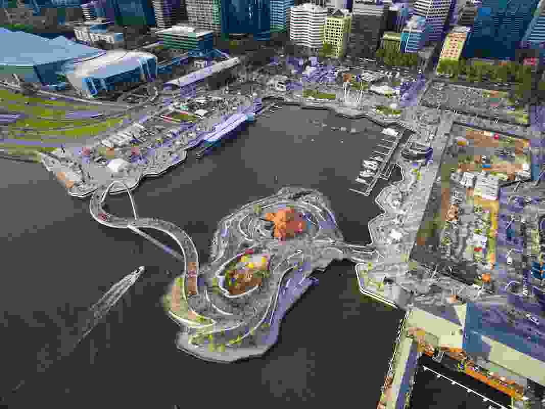 Elizabeth Quay by ARM and TCL.