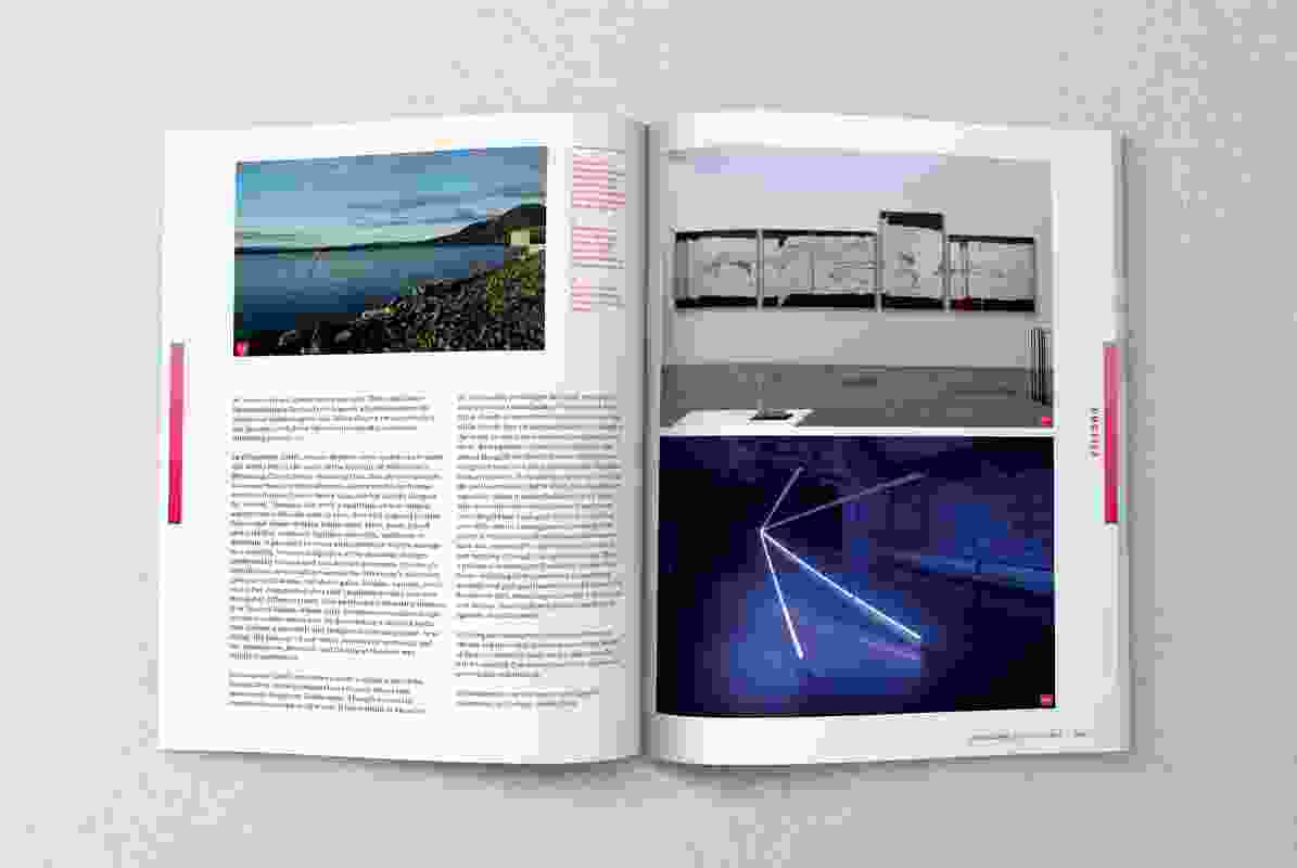 A spread from the May 2019 issue of Landscape Architecture Australia.