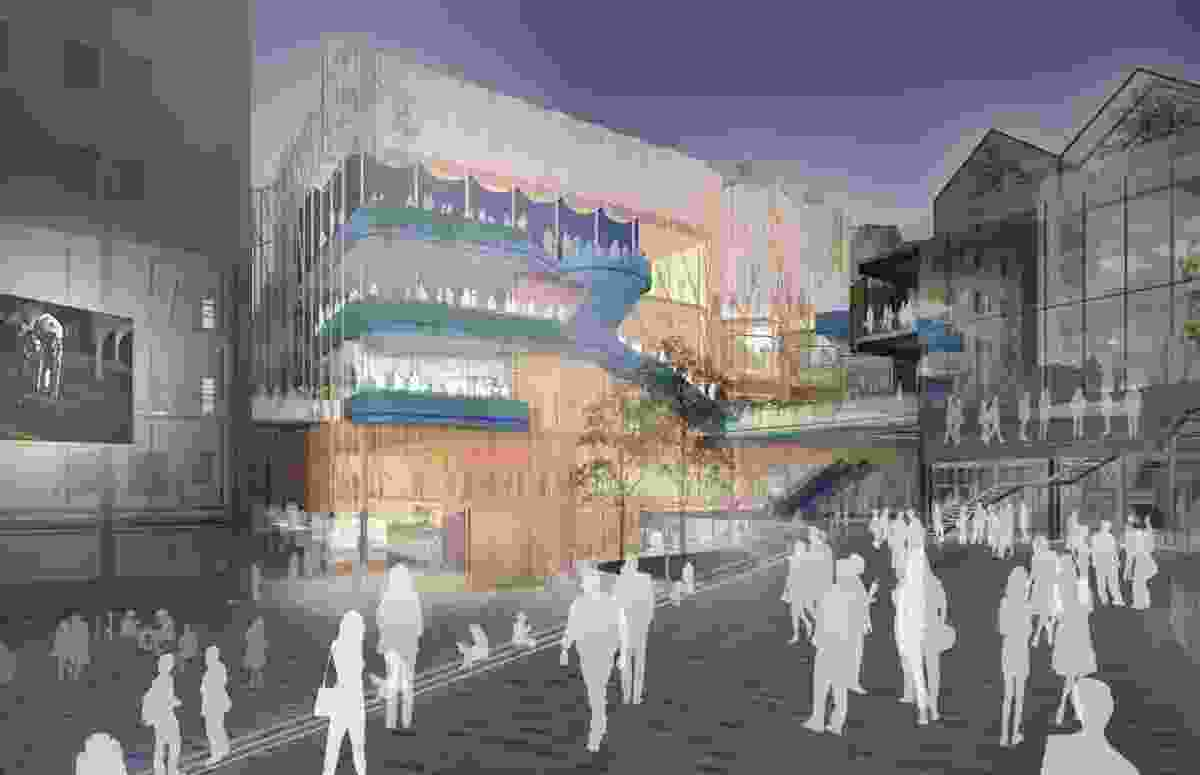 The proposed Arts and Culture Building.