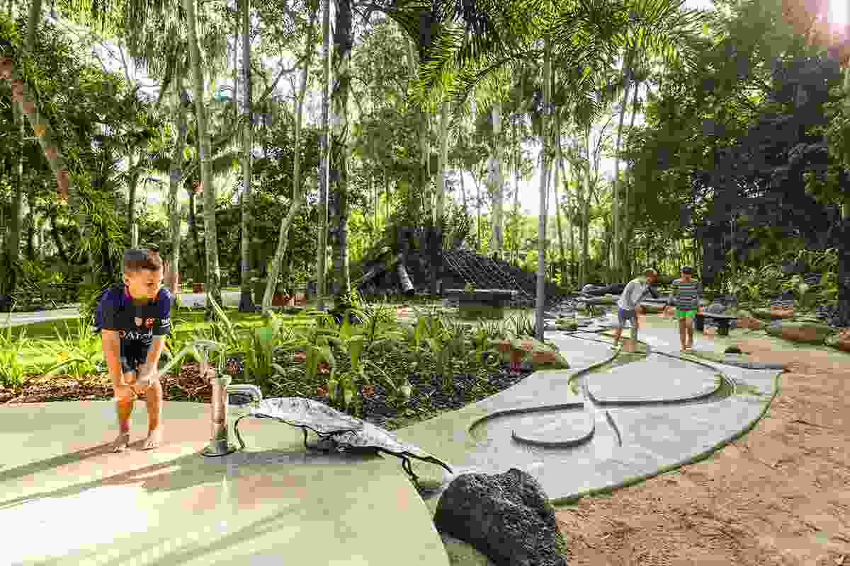 Centenary Lakes Nature Play by Landplan Landscape Architecture, winner of an Award of Excellence in the Play Spaces category.