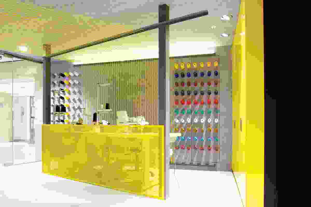 Colour in Commercial Design – Maurice Dry Cleaners by Snell.