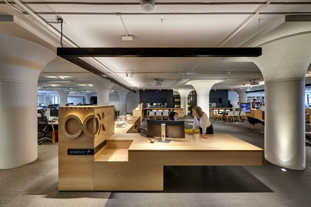 Cox Architecture Sydney Studio by Cox Richardson Architects & Planners.