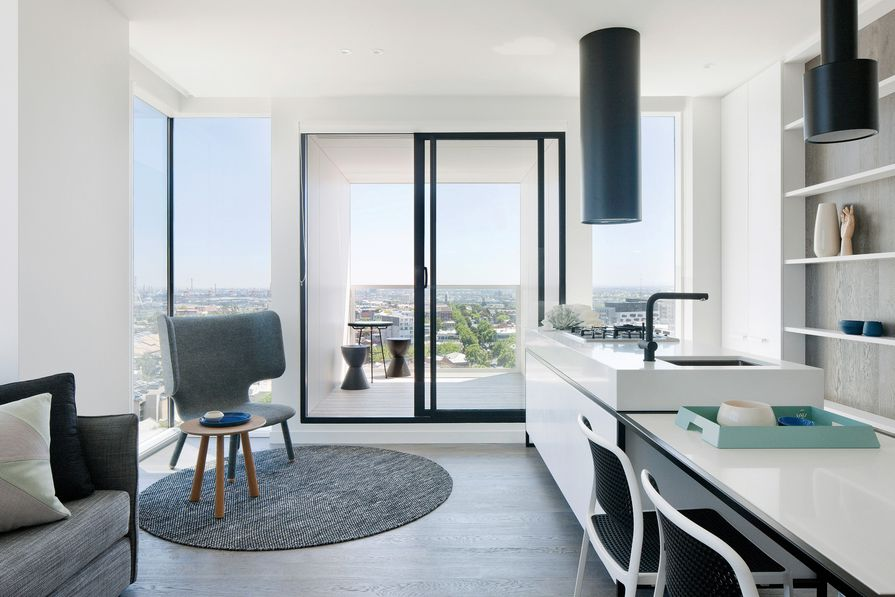Upper House by Jackson Clements Burrows Architects.