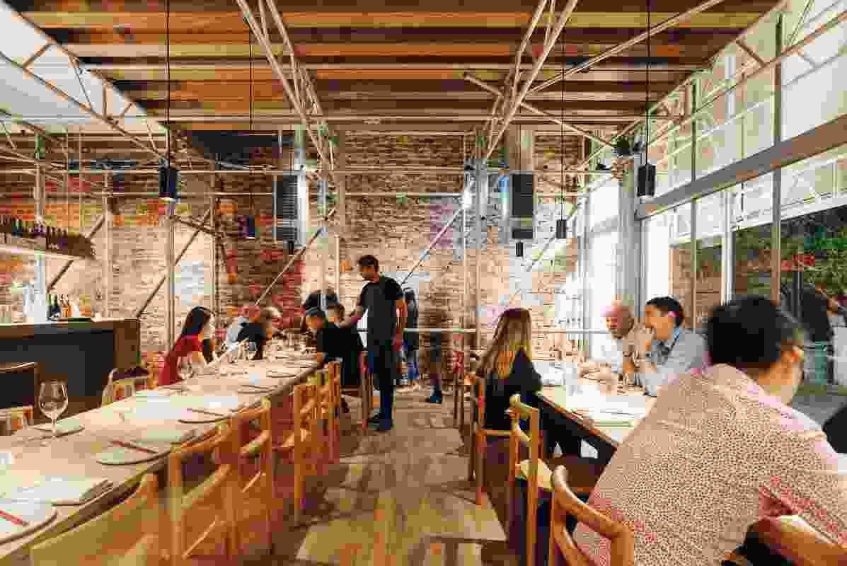 Sunda Bar & Restaurant by Kerstin Thompson Architects and Figureground Architecture.