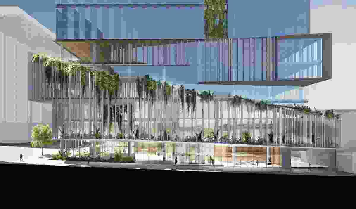 895 Ann Street by John Wardle Architects.