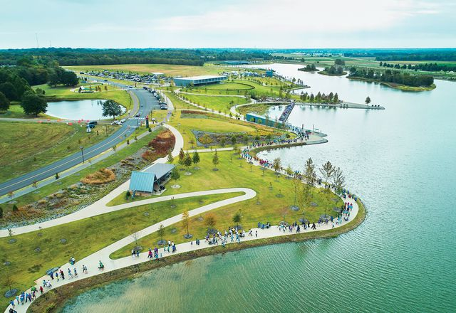 Shelby Farms Park in