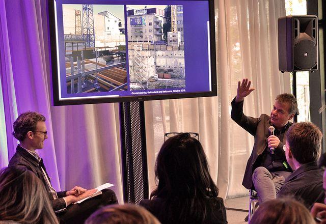 Swiss landscape architect Gunther Vogt, founding director of Vogt Landscape Architects
