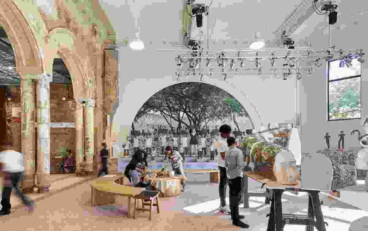 "Studio Lab在博物馆中的四个""实验室""空间之一,可以更换当代互动艺术品的展示。"