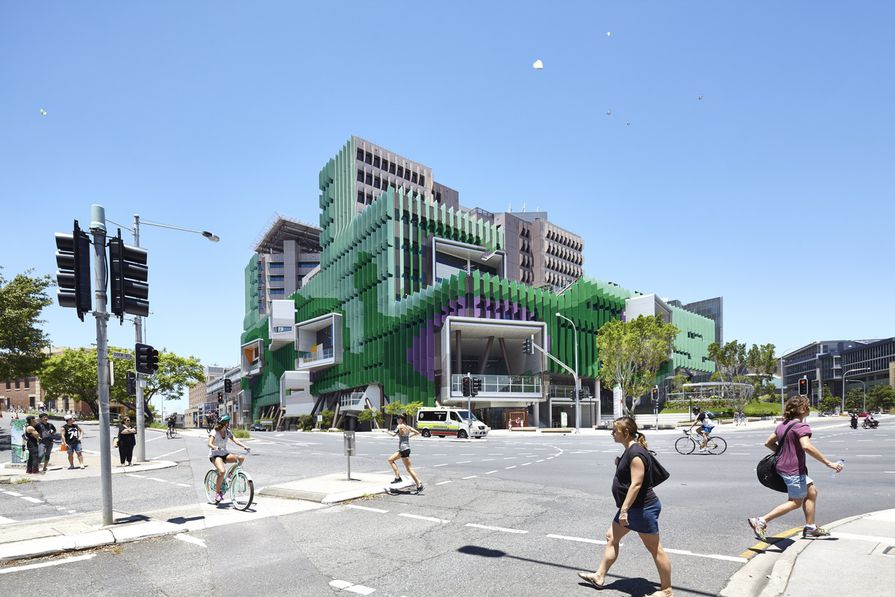 The Lady Cilento Children's Hospital by Conrad Gargett Lyons is one of several projects by the practice that has had a significant impact on Brisbane.