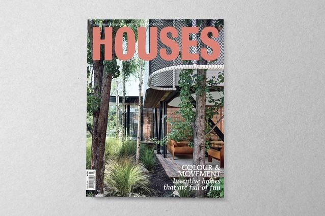 <em>Houses</em> 122. Cover project: King Bill by Austin Maynard Architects.