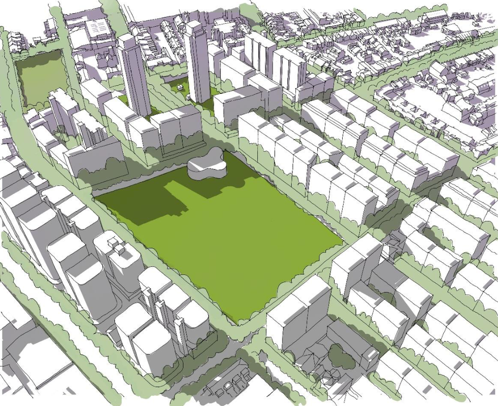 The City of Sydney's proposal.