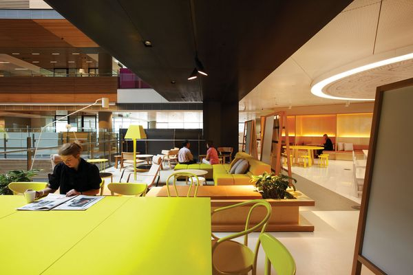 Colour in Commercial Design – ANZ Centre by Hassell.