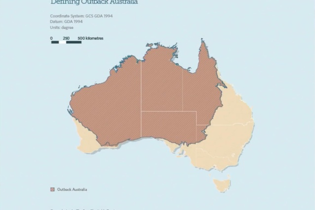 """In defining the outback, there is a vast area that is still available,"" said David Gianotten."