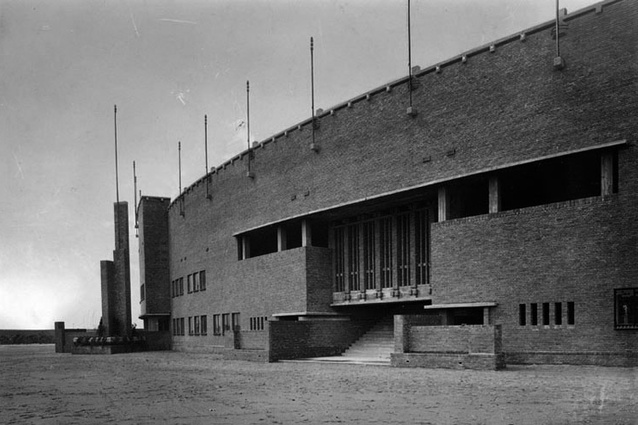Olympic Stadium in Amsterdam by Jan Wils, 1928.