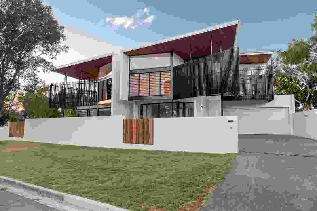 Lake Weyba Duplex by Robinson Architects.