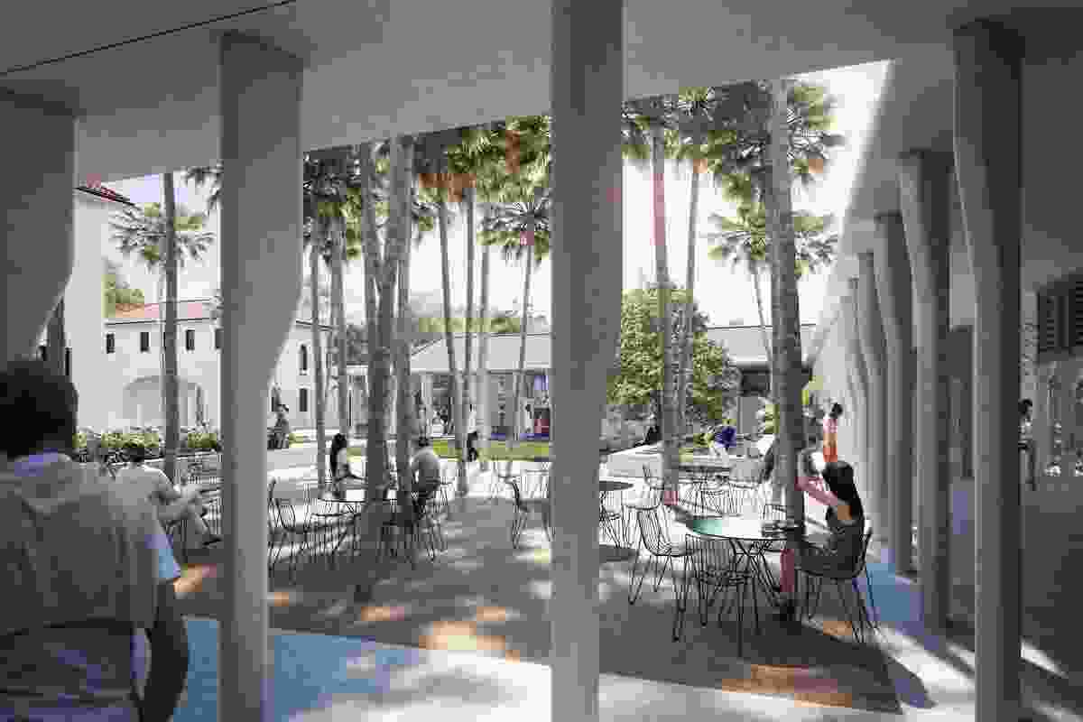 The redevelopment of Bondi Pavilion by Tonkin Zulaikha Greer will include new landscaped courtyards.