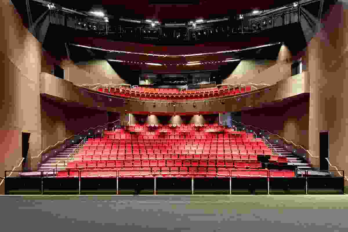 In 2012 the five-hundred-seat theatre will host performances by Kate Miller-Heidke, Judy Collins and the English National Ballet.