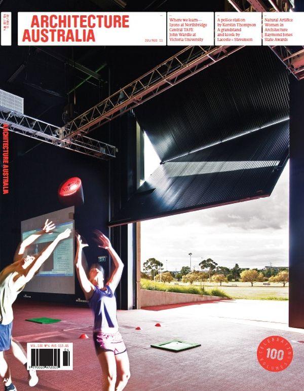 Architecture Australia, July 2011
