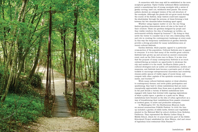 Spread from <i>Future Park: Imagining Tomorrow's Urban Parks</i>.
