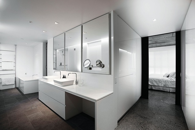 Pyrmont Apartment by Bokor Architecture + Interiors.