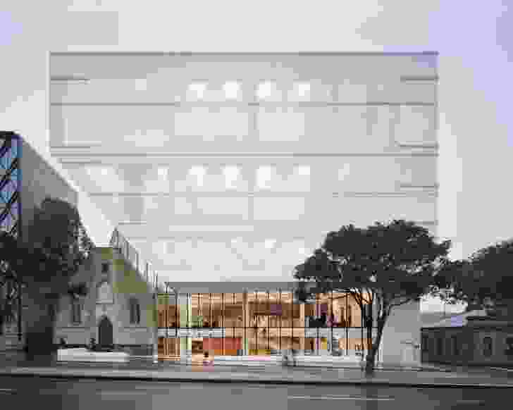 Geelong Arts Centre by Hassell.