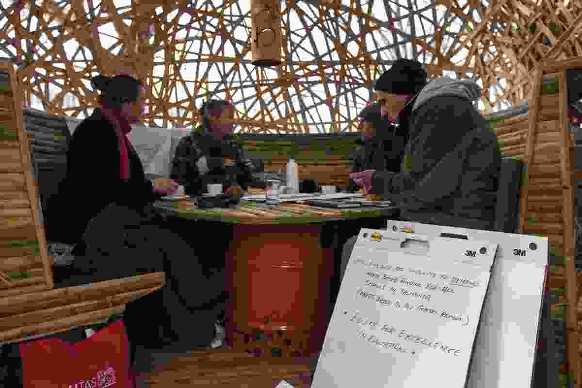 Advertising agency Clemenger Tasmania/OMD facilitated the Hothouse think-tank sessions that were hosted in partnership with Dark Mofo, UTAS, Cave Urban and the City of Hobart.