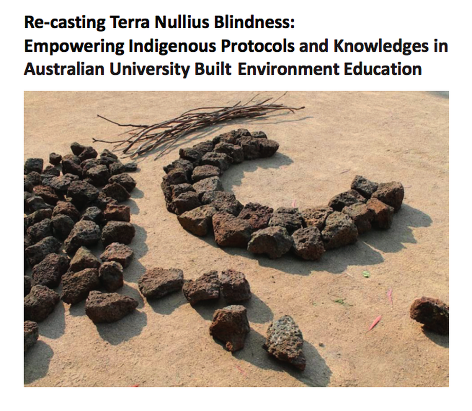 ReCasting Terra Nullius Blindness by Deakin University won the Award of Excellence in the Research, Policy and Communications category.