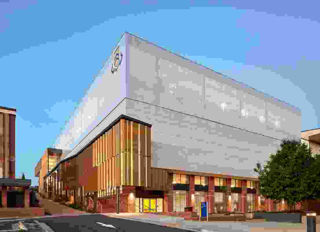 Toowoomba Grammar School Gymnasium by Wilson Architects.