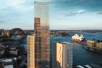 Approval sought for Kerry Hill Architects' amended Circular Quay tower