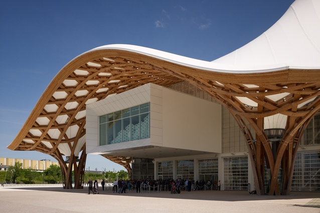Centre Pompidou-Metz by Shigeru Ban Architects (Metz, France, 2010).