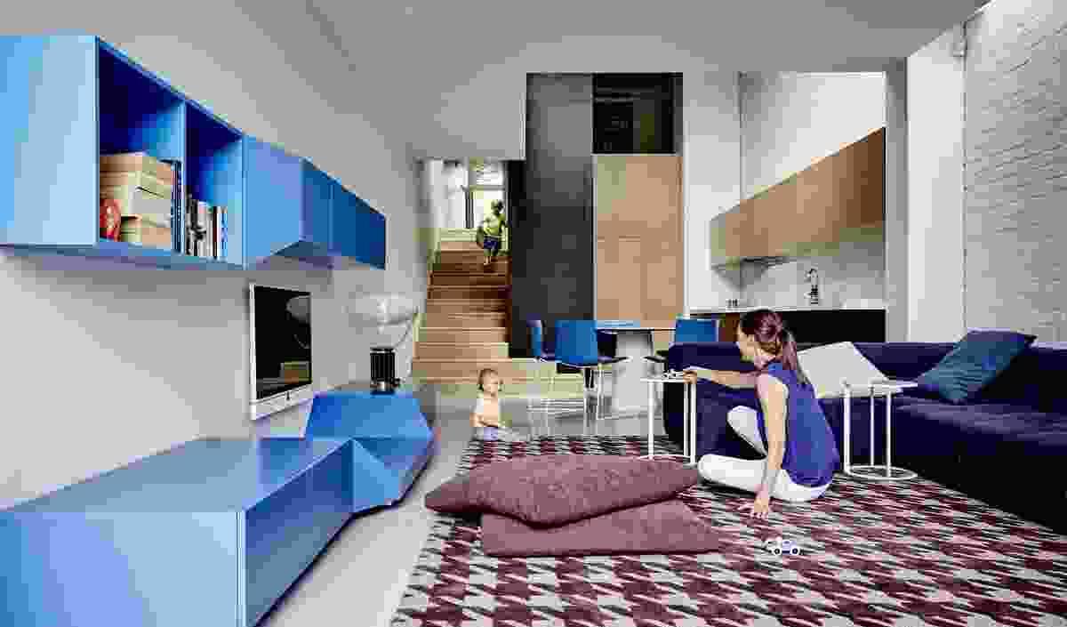 True Blue Terrace by Pleysier Perkins.