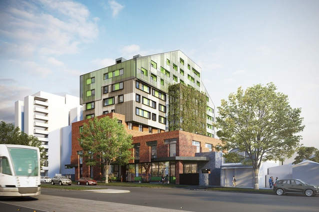 MGS Architects designs VincentCare homeless housing project in ...