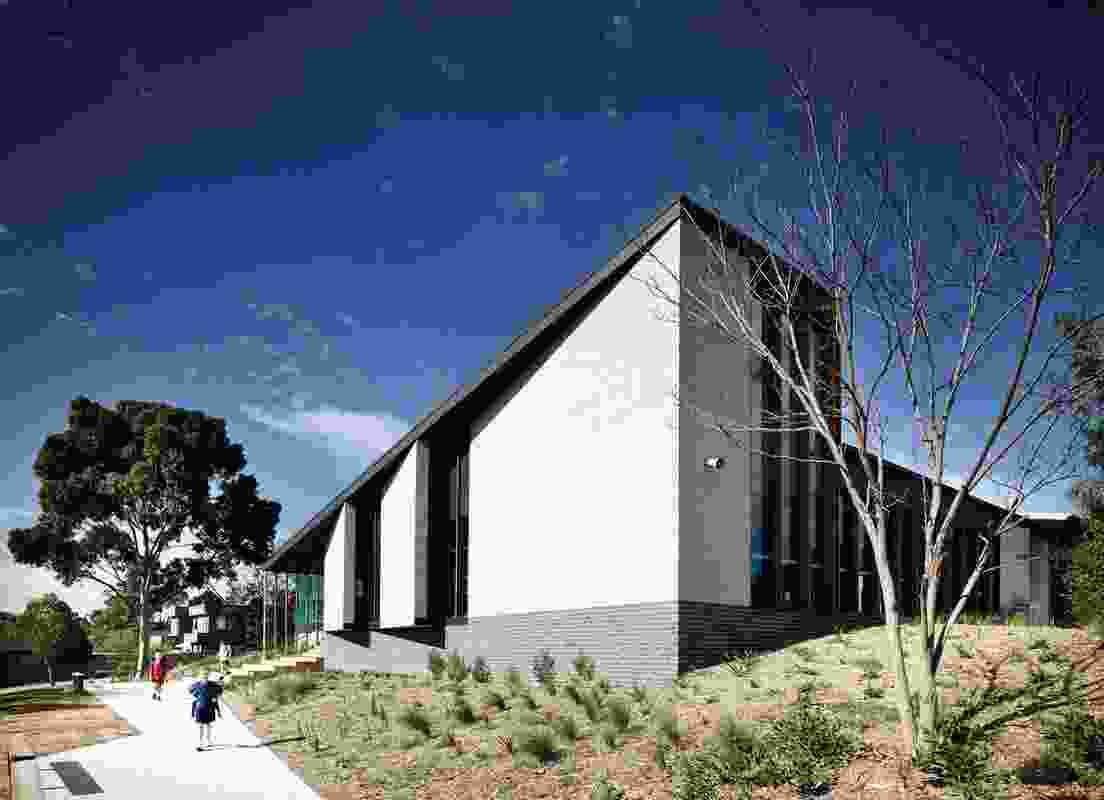 Birralee Primary School by Kerstin Thompson Architects.
