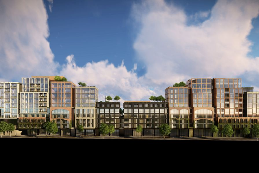 The new design for Gurner's Collingwood development by Cox Architecture.