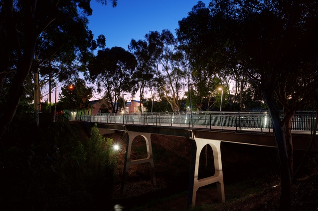 Sir William Goodman Bridge by Flightpath Architects.